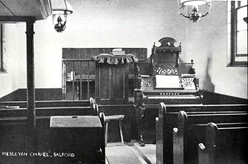 The Wesleyan Chapel interior [Z50/98/21]